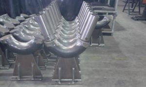 productie V-kolommen