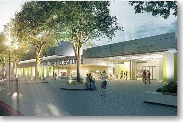 Sportcomplex De Geusselt Te Maastricht