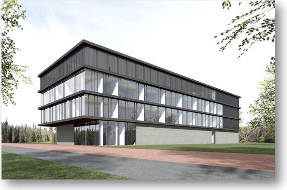 Gebouw Grijs Deltion College Te Zwolle
