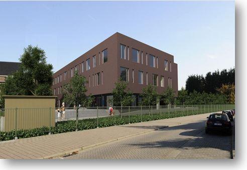 Nieuwbouw Sporthal Berlaar (Belgie) Te Berlaar
