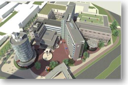 Bouw/verbouw Ikazia Ziekenhuis Te Rotterdam