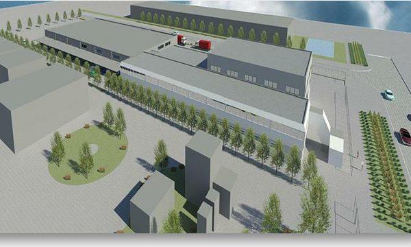 Nieuwbouw Magazijn Synres-Almoco Te Hoek Van Holland