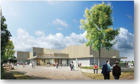 """Nieuwbouw """"MFA Het Noorderhuis"""" Te Noorderloos"""