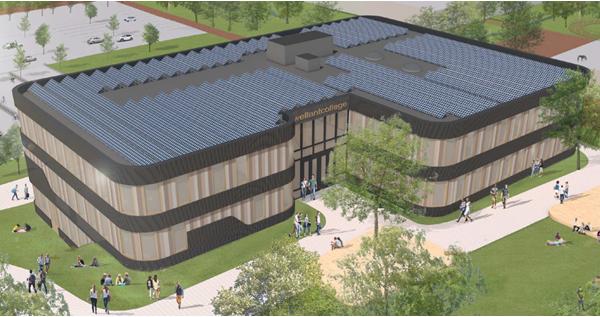 Nieuwbouw MBO Wellantcollege Dordrecht