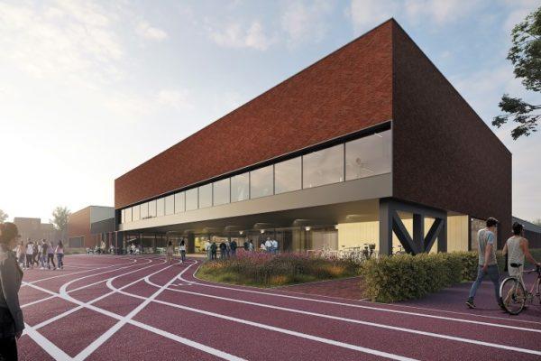 Nieuwbouw Sportcomplex Hellevoetsluis