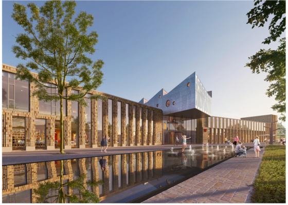 Nieuwbouw (fase 2) Gemeentehuis Midden Groningen