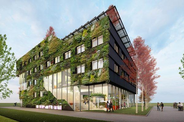 Nieuwbouw Aeres Hogeschool Te Almere