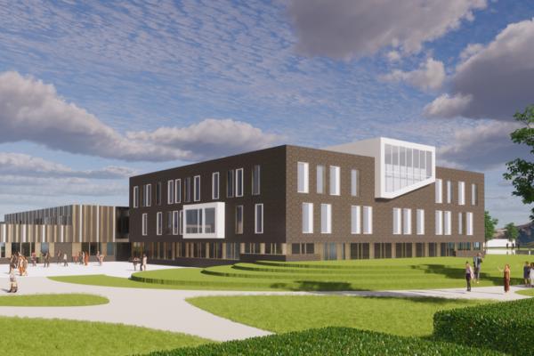 Nieuwbouw School Pontes Pieter Zeeman Te Zierikzee