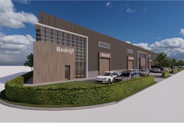 Nieuwbouw 7 Stuks Bedrijfsunits De Robijn Te Dordrecht